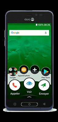 Téléphone Doro 8035 bleu Comme Neuf