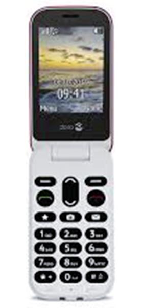 Téléphone Doro Doro 6040 Rouge Blanc