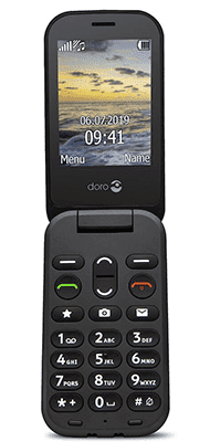 Téléphone Doro Doro 6040 Noir Comme Neuf
