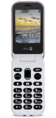 Téléphone Doro Doro 6040 Rouge Blanc Comme Neuf