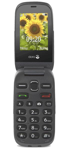 Téléphone Doro Doro 6030 Titane comme neuf