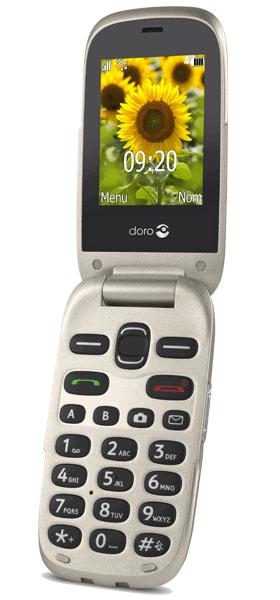 Téléphone Doro 6030 Or Comme neuf