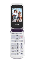 Téléphone Doro 612i Aubergine-Blanc Comme neuf