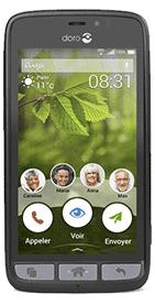 Téléphone Doro 8031 Noir