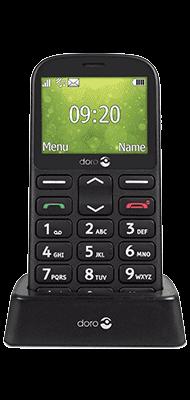 Téléphone Doro 1360 Noir