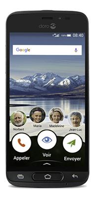 Téléphone Doro 8040 Graphite