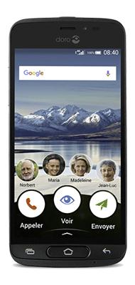 Téléphone Doro 8040 Graphite Comme Neuf