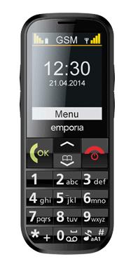 Téléphone Emporia Eco noir