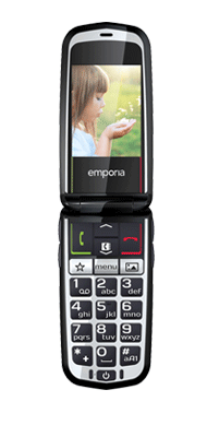 Téléphone Emporia Glam Blanc