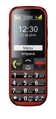 Téléphone Emporia Eco rouge
