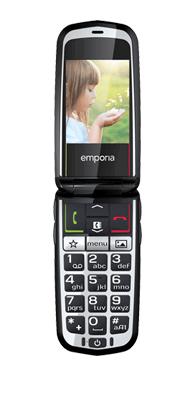 Téléphone Emporia Glam Rouge
