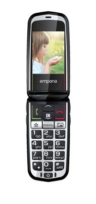 Téléphone Emporia Glam Noir Comme neuf