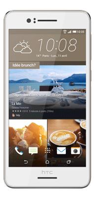 Téléphone HTC Desire 728 Blanc Irisé Comme Neuf