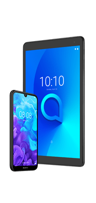 Téléphone Huawei Huawei Y5 2019 Noir + Tab Alcatel 1T10
