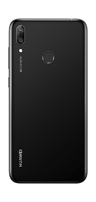 Téléphone Huawei Y7 2019 Midnight black DS Comme Neuf