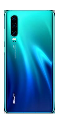 Téléphone Huawei P30 Bleu Comme Neuf