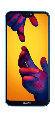 Téléphone Huawei P20 Lite bleu Comme Neuf
