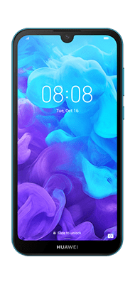 Téléphone Huawei Huawei Y5 2019 Bleu DS Comme Neuf