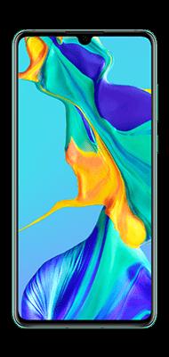 Téléphone Huawei Huawei P30 Aurora Blue Bon état