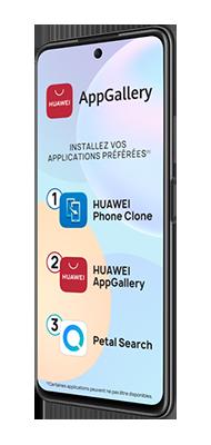 Téléphone Huawei Huawei Psmart 2021 29EUR + Carte SIM 10EUR