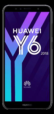 Téléphone Huawei Y6 2018 noir