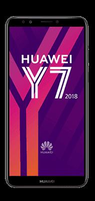 Téléphone Huawei Y7 2018 noir