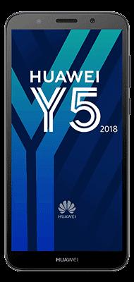 Téléphone Huawei Y5 2018 Noir DS