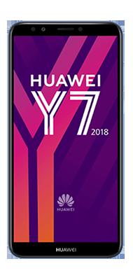 Téléphone Huawei Y7 2018 bleu DS