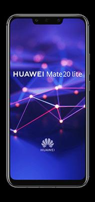 Téléphone Huawei Mate 20 lite Noir