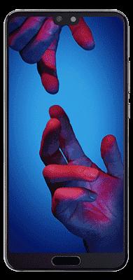 Téléphone Huawei P20 Lite Noir Comme Neuf