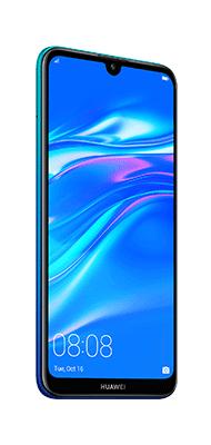 Téléphone Huawei Y7 2019 Aurora blue DS