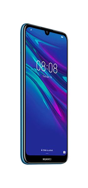 Téléphone Huawei Y6 2019 Sapphire Blue DS