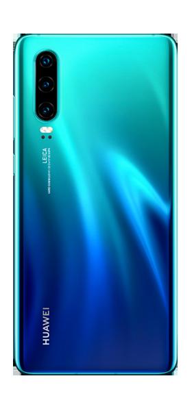 Téléphone Huawei P30 Aurora Blue