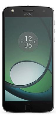 Téléphone Lenovo Moto Z PLAY noir