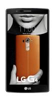 T�l�phone LG G4 cuir marron