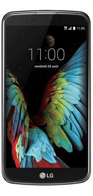 Téléphone LG K10 noir