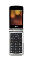 Téléphone LG G360 rouge