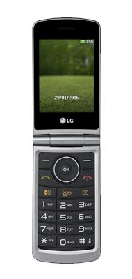 Téléphone LG G360 titane