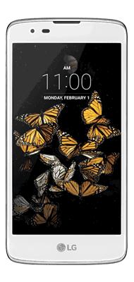 Téléphone LG K8 4G blanc