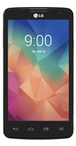 Téléphone LG L60 Dual noir Comme neuf