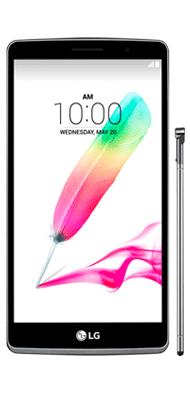Téléphone LG G4 Stylus Titane Comme neuf