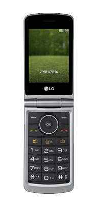 Téléphone LG G360 titane comme neuf