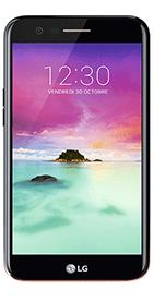 Téléphone LG K10 2017 Noir