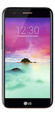 Téléphone LG K10 2017 Noir Comme Neuf
