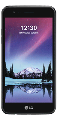 Téléphone LG K4 2017 Titane Comme Neuf