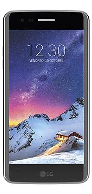 Téléphone LG K8 2017 Titane Comme Neuf