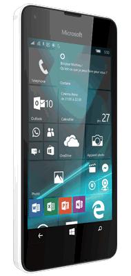 T�l�phone Microsoft Lumia 550 blanc