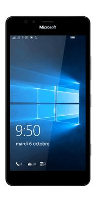 T�l�phone Microsoft LUMIA 950 noir