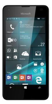 Téléphone Microsoft Lumia 550 noir Comme neuf