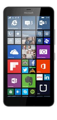 Téléphone Microsoft Lumia 640 XL Blanc Comme neuf